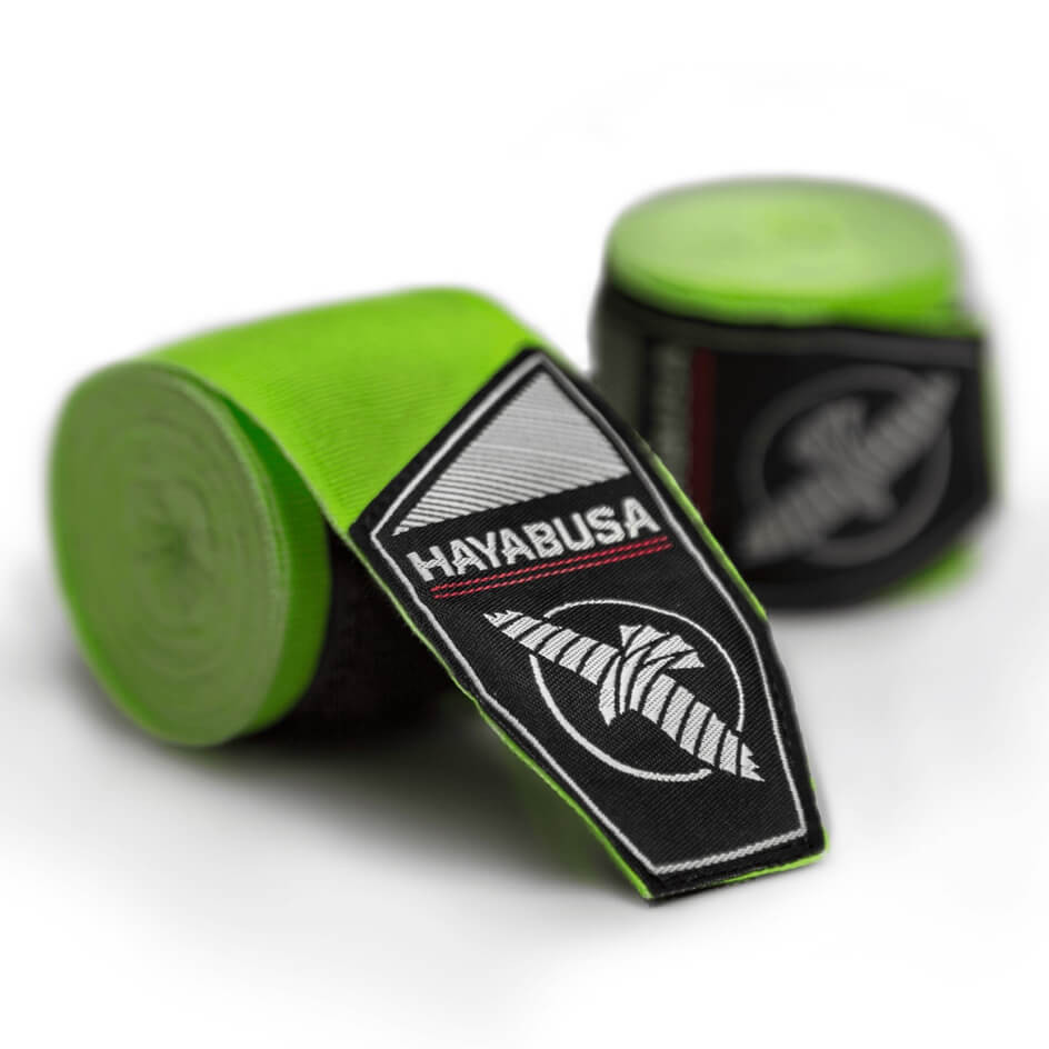 Hayabusa Perfect Stretch Handwraps - Green