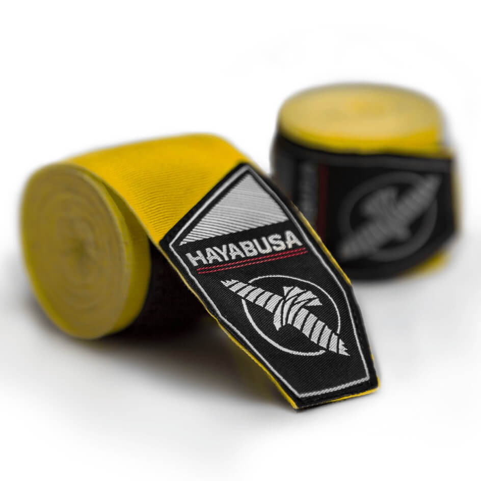 Hayabusa Perfect Stretch Handwraps - Yellow
