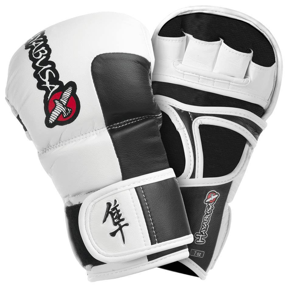Hayabusa Tokushu 7oz Hybrid Gloves White